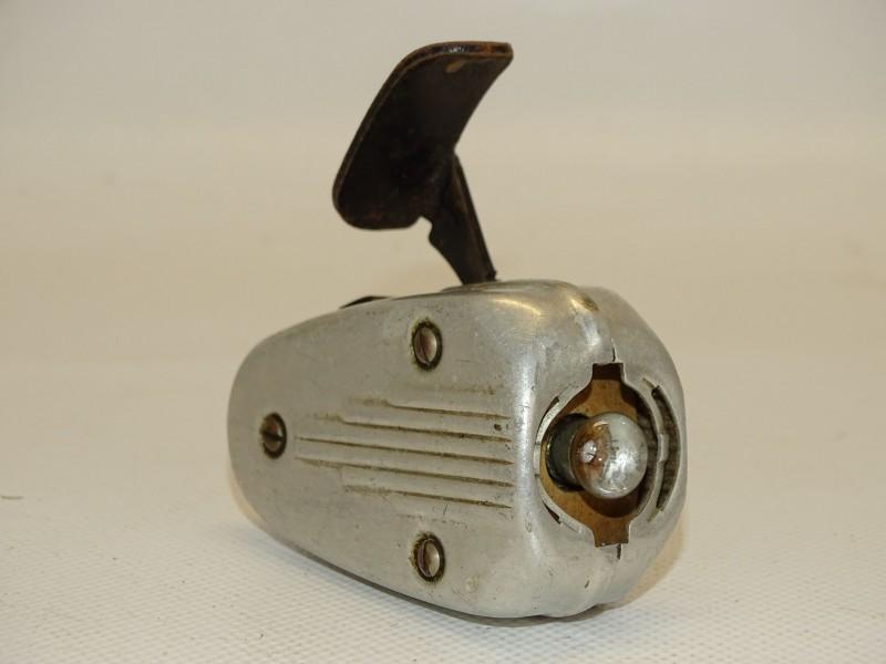 Oude Knijpkat / Zaklamp: Philips, Type 7424, Jaren 40