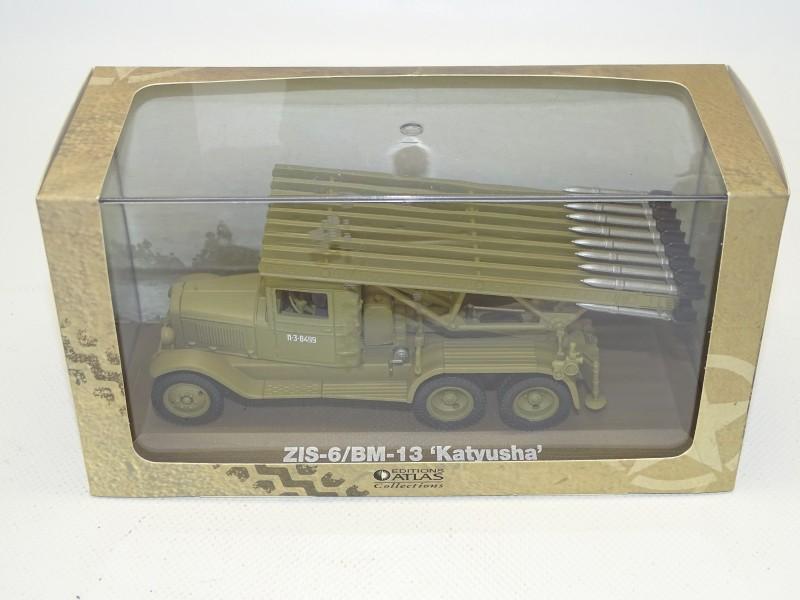 ZIS-6 / BM-13 'Katyusha' Schaal Model