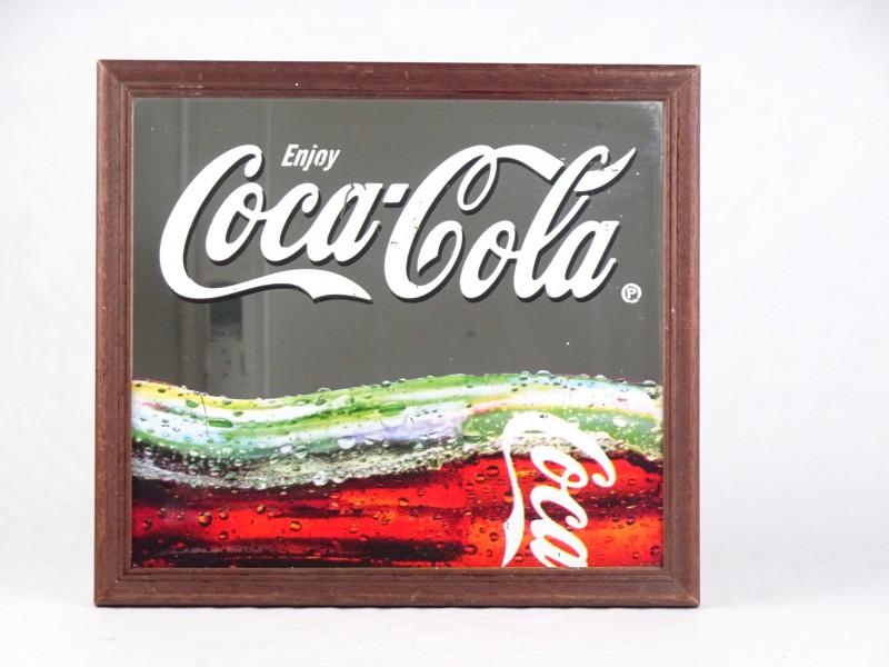 Vintage Coca Cola spiegel.