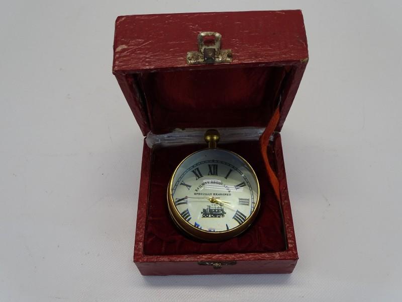 Vintage Railway Regulator Horloge, Zwitserland