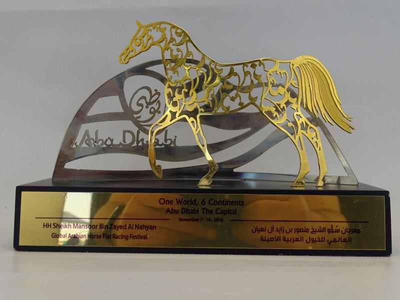 Beeld Global Arabian Horse Flat Racing Festival, Abu Dhabi