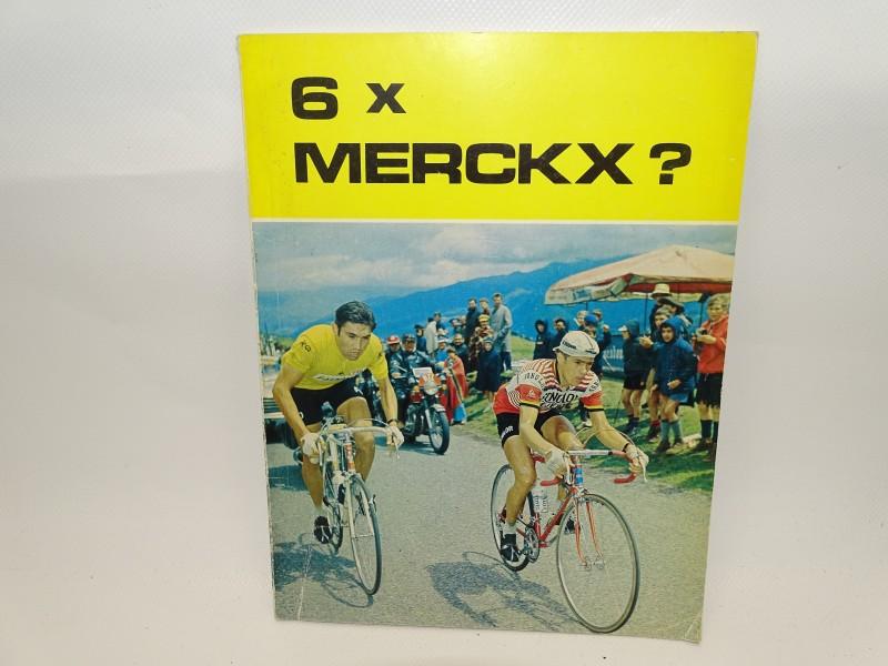 Boek: 6 x Merckx ?, 1977
