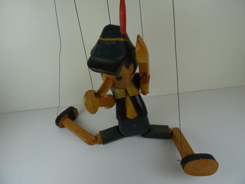 Pinokkio houten marionet