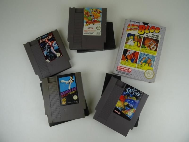 Lot Games NES Nintendo (5 stuks)