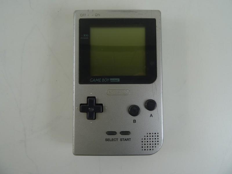 Gameboy Pocket grijs