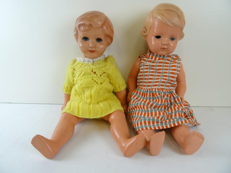Vintage set poppen
