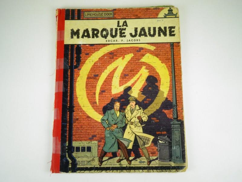 E.P. Jacobs: Blake en Mortimer: La marque jaune  1956 eerste druk