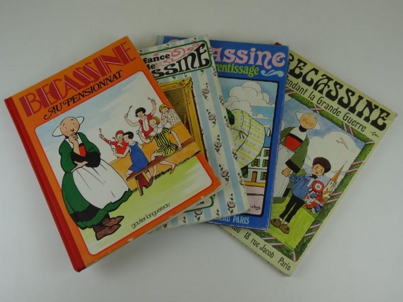 J.P. Pinchon: 4 herdrukken van Becassine