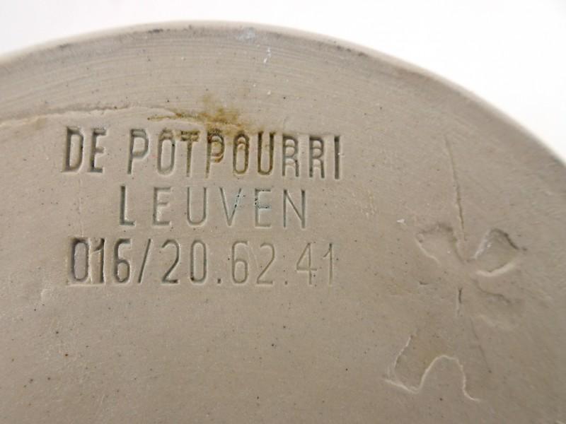 Keramische karaf & tassen (De Potpourri Leuven)