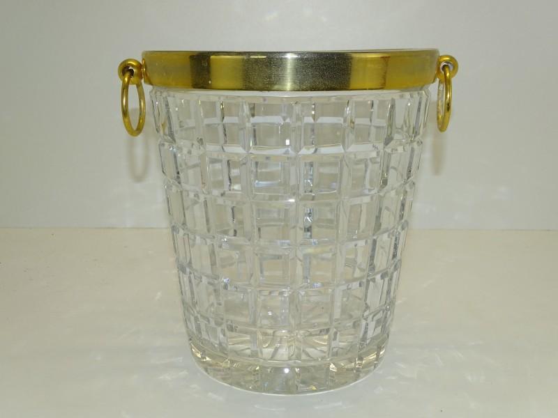 Vintage Kristallen IJsemmer