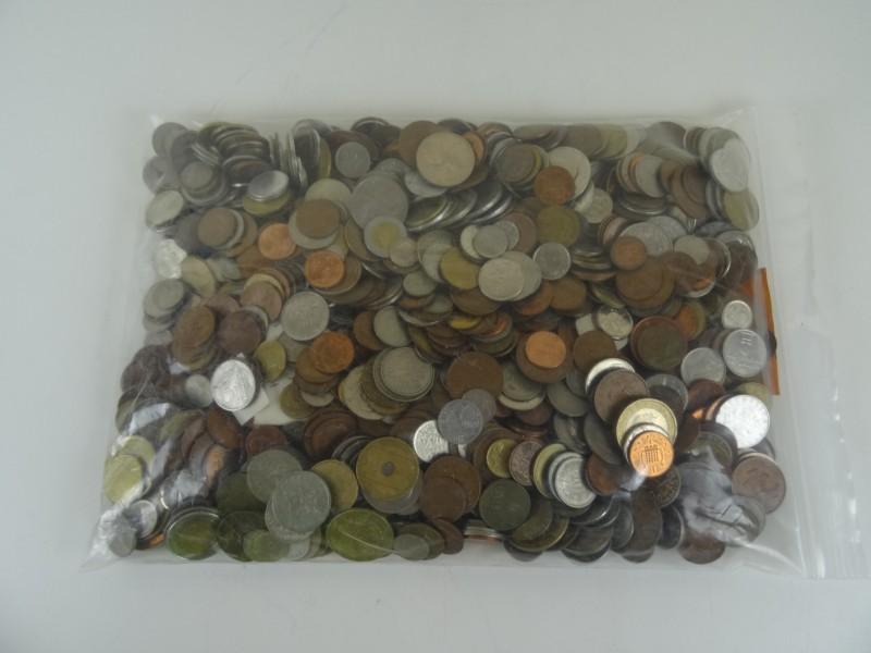 Groot lot munten - 5kg