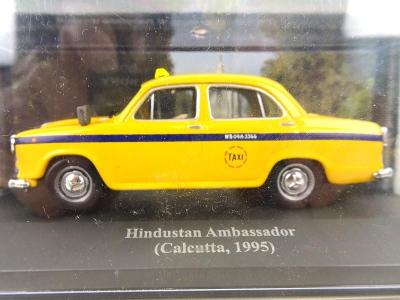 Taxi Hindustan Ambassador (Calcutta 1995)