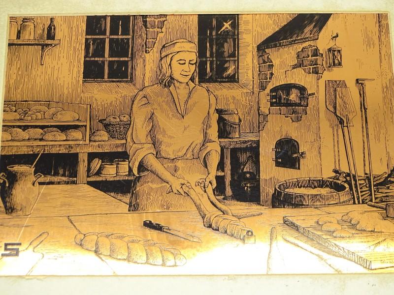 Koperen Plaat Ets, Etchmaster Original, Colin Woolf
