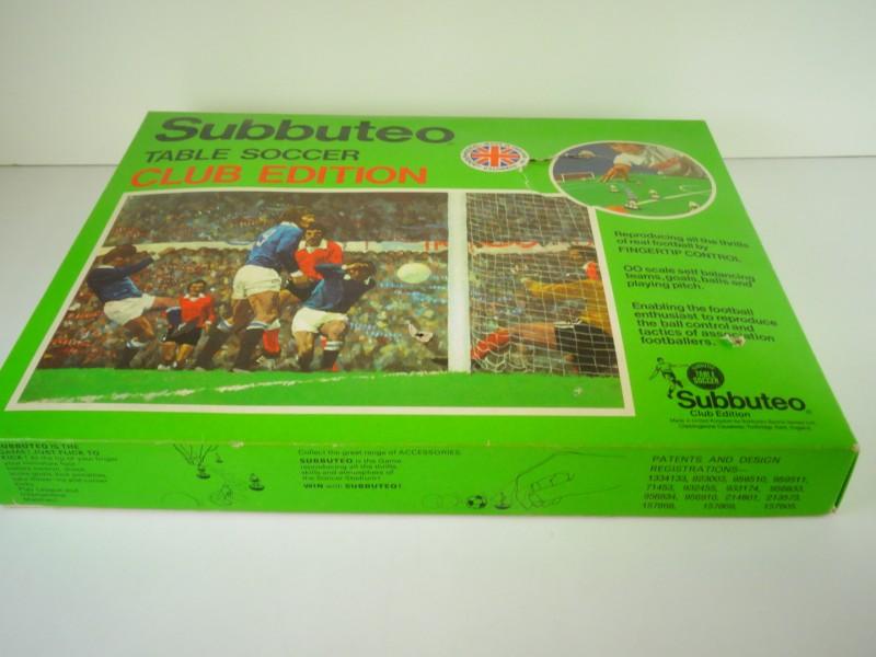 Subbuteo tafelvoetbal  Club Edition