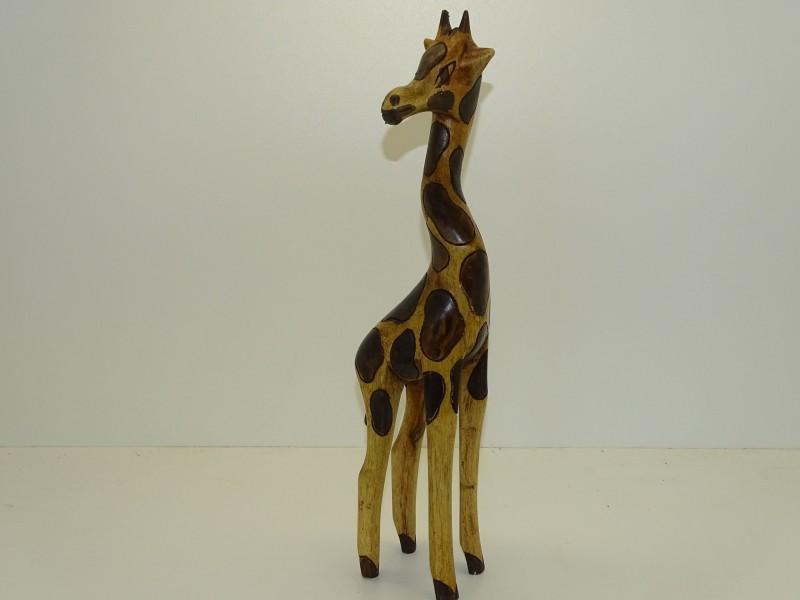 Handgesneden Houten Giraffe