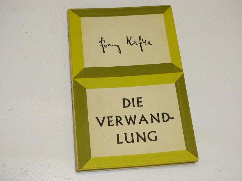 Boek: Franz Kafka, Die Verwandlung, Duitse (NL) Editie, 1963
