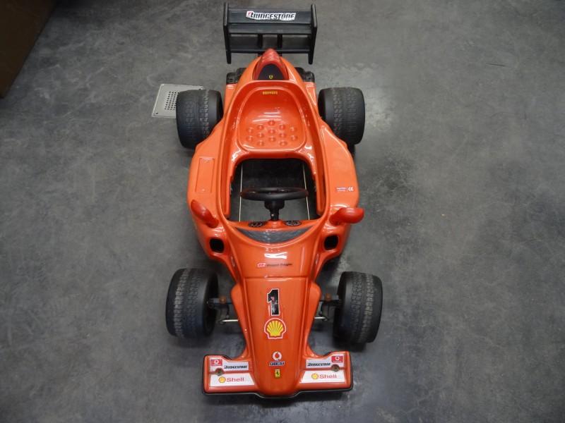 TT Toy Toys F1 Ferrari trapauto