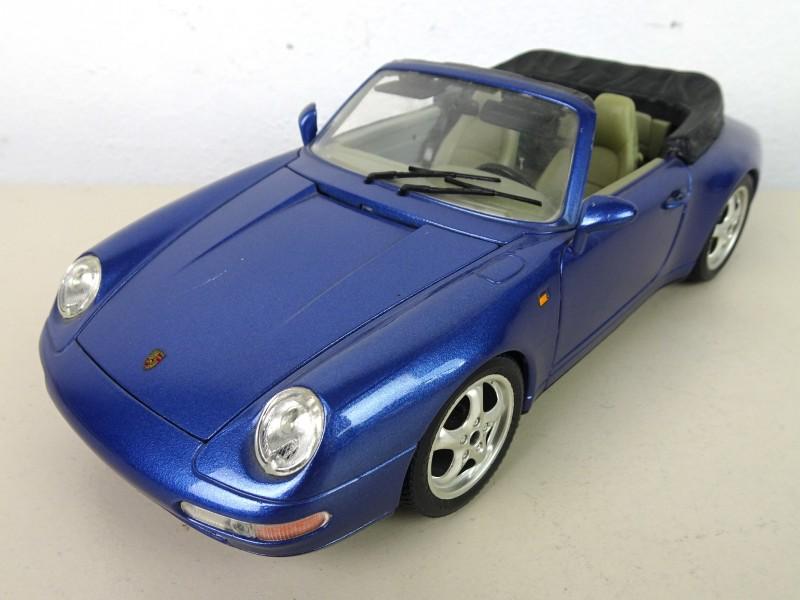 Porsche Carrera 911 op schaal (1993)