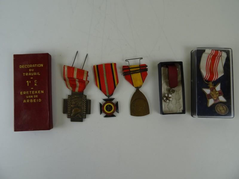 Lot medailles