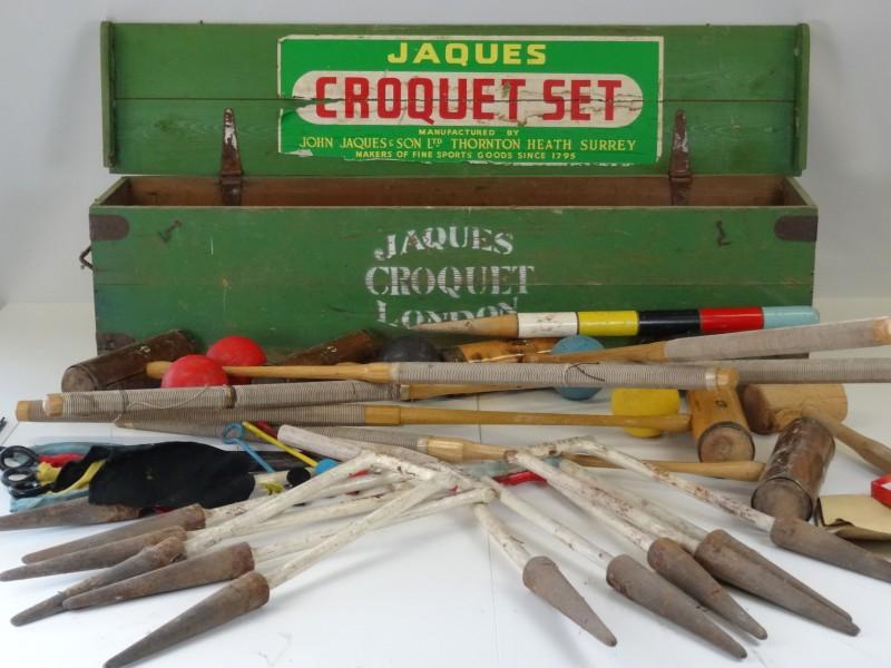 Vintage Croquetset Jacques Of London