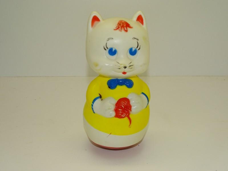 Retro Speelgoed Kat, Roly Poly, Frankrijk