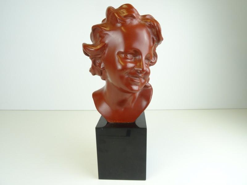 Naar Jean-Baptiste CARPEAUX:  buste  20e eeuw