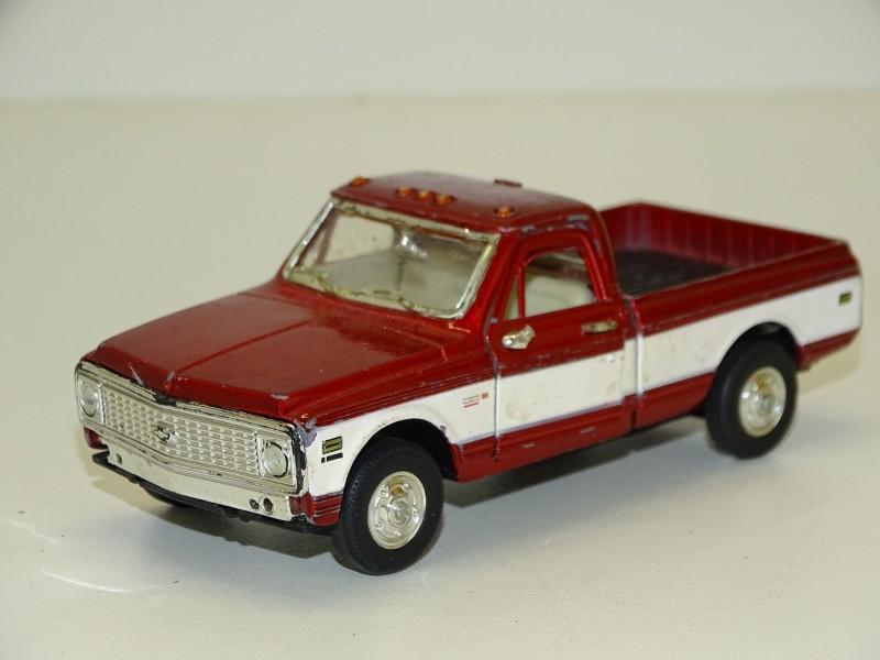 Chevrolet Cheyenne, Pick Up, Welly, 1972