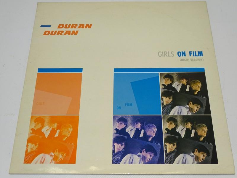 12 inch Duran Duran, Girls On Film, 1981