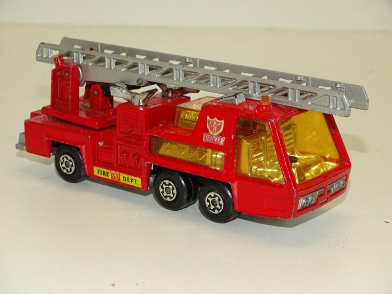 Brandweerwagen: Matchbox Superkings, K9 Fire Tender , 1972 Lesney