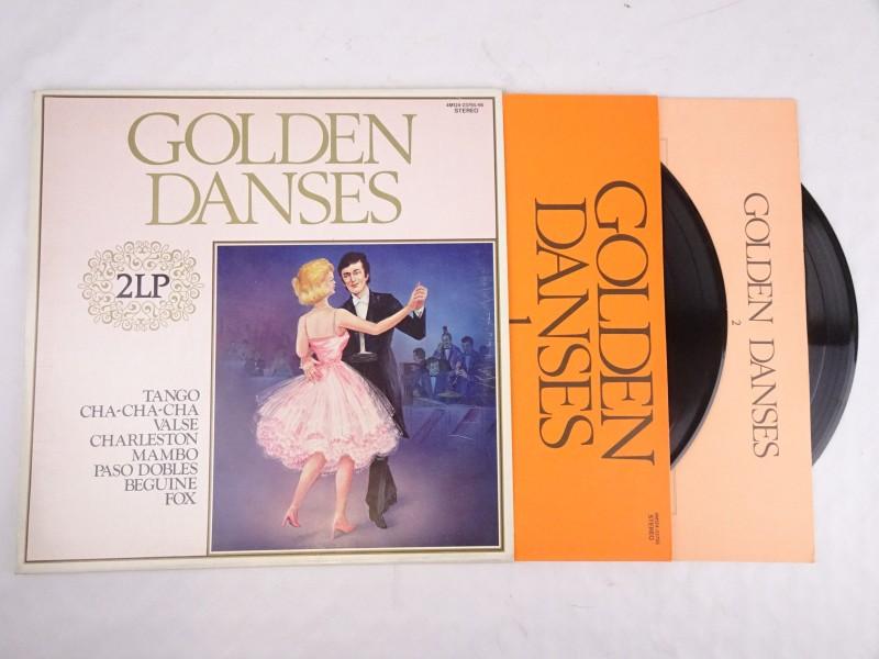 Vinyl dubbel album: Golden Danses. (Jazz, Folk, World and Country.)
