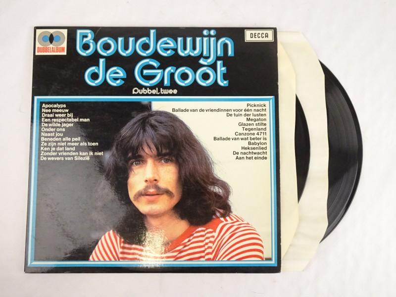 Vinyl album: Boudewijn De Groot, Dubbel Twee.