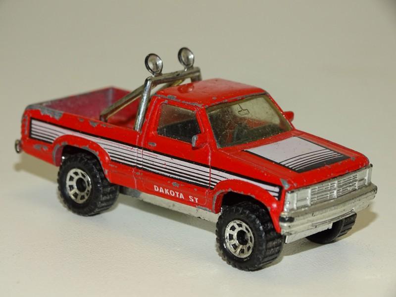 Rode Dodge Dakota , Matchbox, 1987