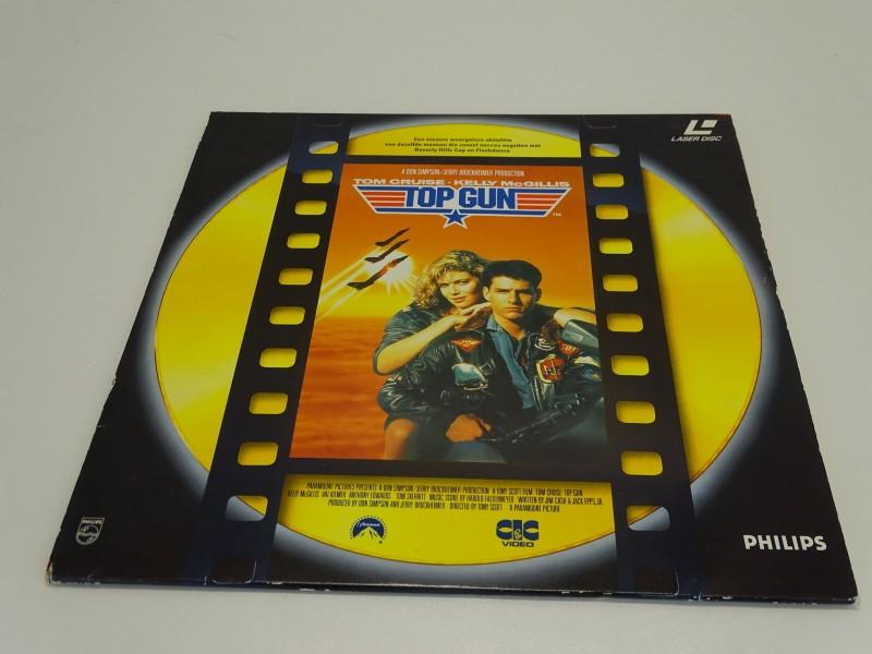 Laser Disc: Top Gun, Tom Cruise, 1986