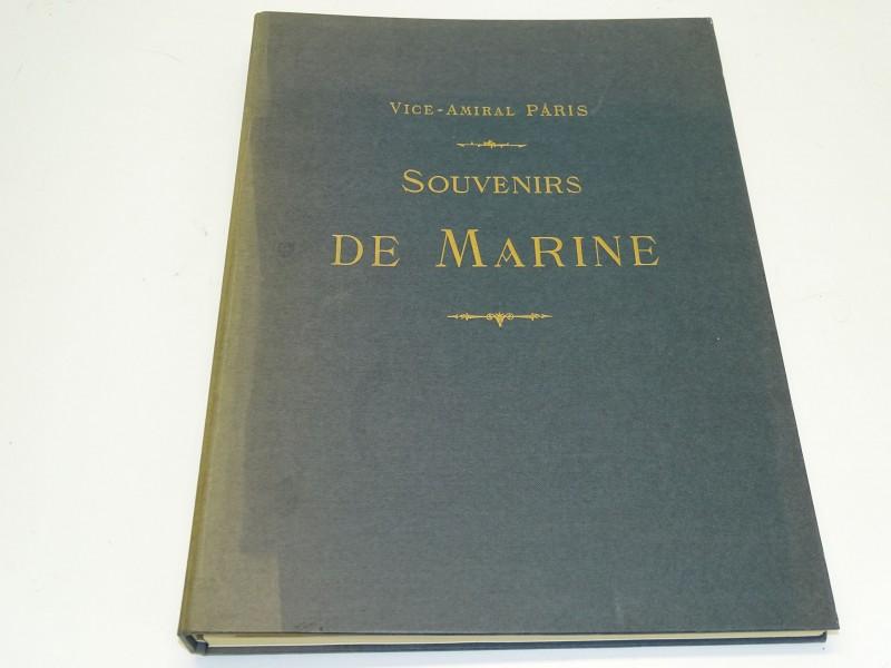 Boek: Souvenirs De Marine, Vice Amiral Paris, 1972