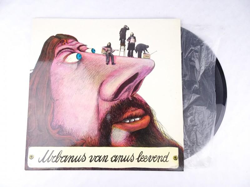 Vinyl album: Urbanus van Anus, Leevend.