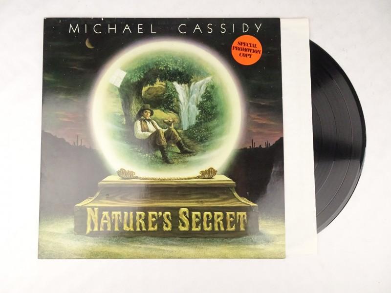 Vinyl album: Michael Cassidy, Nature's Secret.