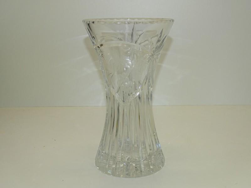 Kristallen Vaas met Druifmotief