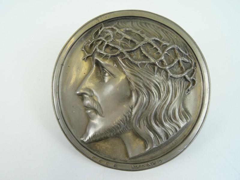 Aluminium munt Ecco Homo