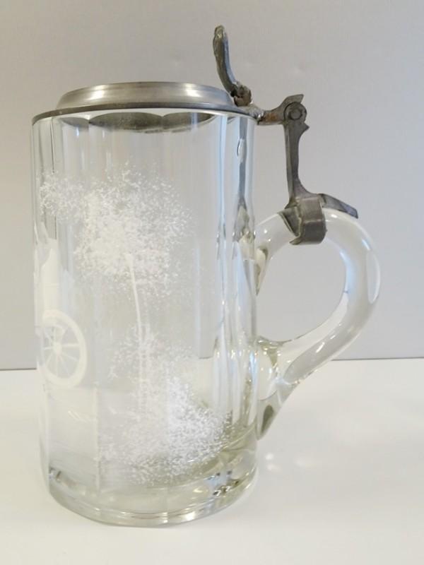 Antieke bierpull