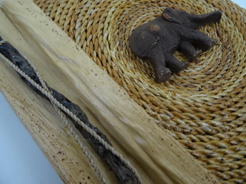 mooie rotan  of bamboe fotoalbum