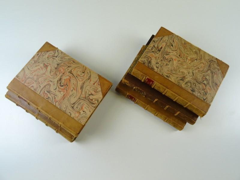 Cyriel Buysse: 5 werken van zijn hand in hardcovers ingebonden