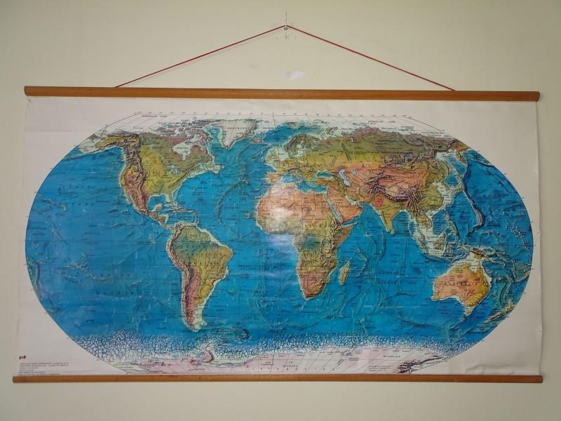 Grote Spectrum Wereldkaart