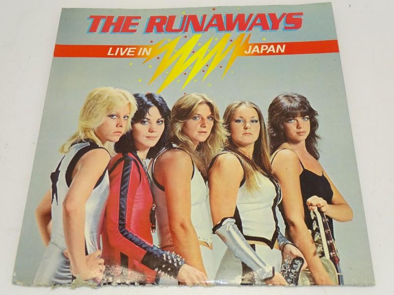 LP, The Runaways: Live In Japan, 1977