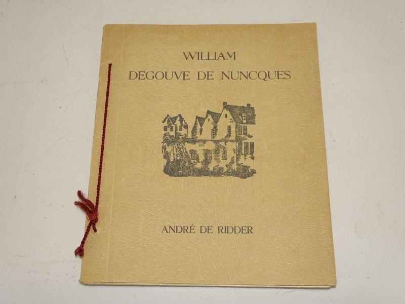 Monografie Van William Degouve De Nunques, Andre de Ridder, 1940