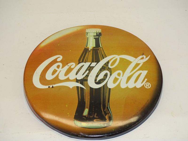 Vintage Coca Cola Reclamebord, 1994