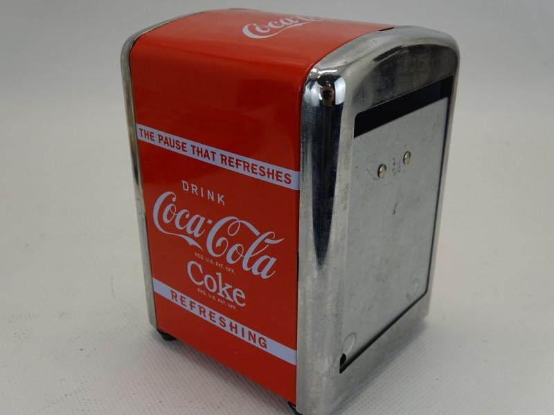 Vintage Servethouder: Coca Cola, 2010