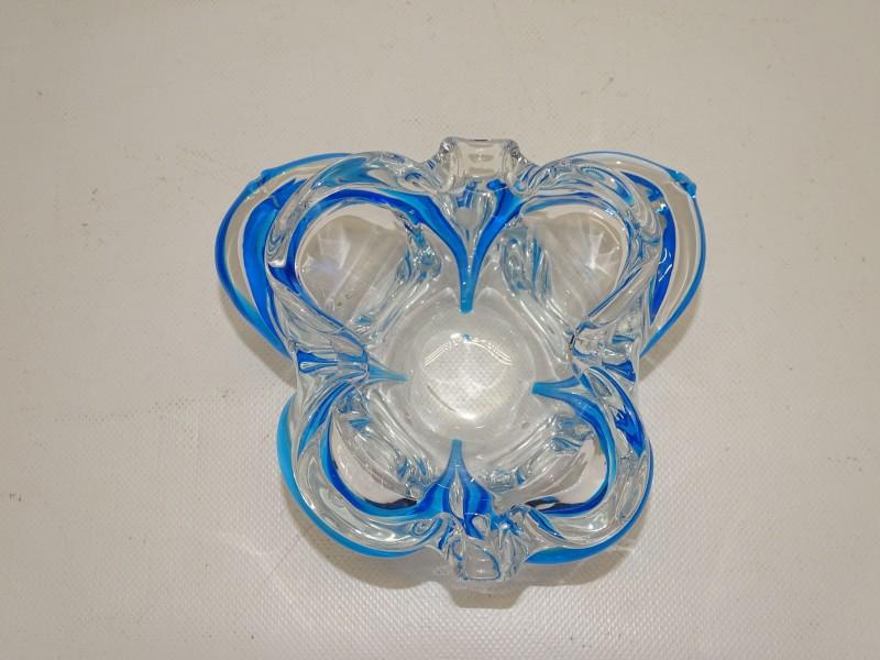 """Handgeblazen Kristallen """"Vlinder"""" In Murano Stijl"""