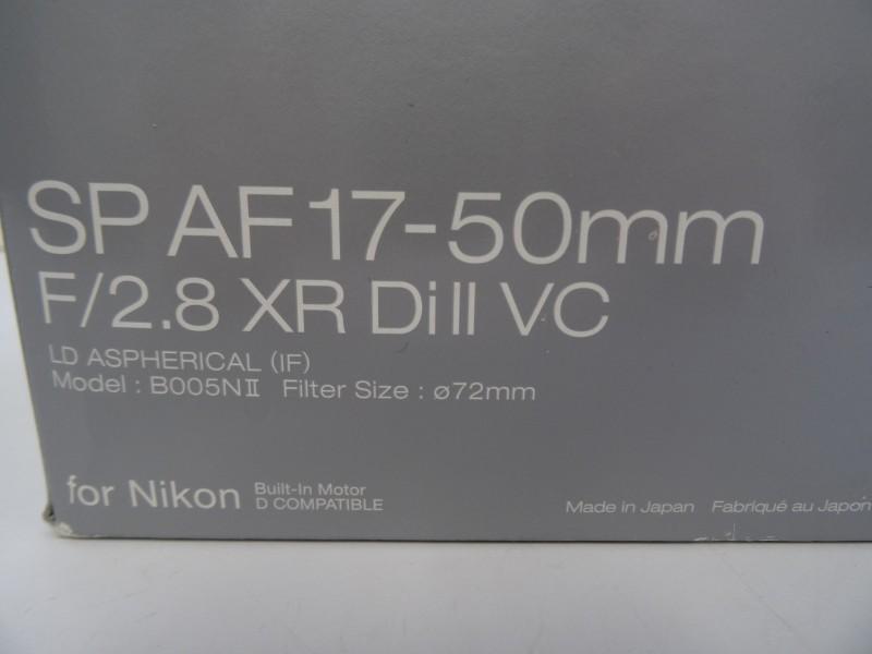 Tamron SP AF 17-50mm - F2.8 XR Di II VC LD Aspherical (IF)