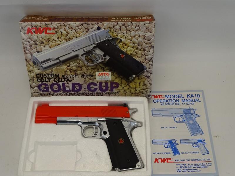 BB Gun, Colt Custom Delta Gold Cup, 10 MM