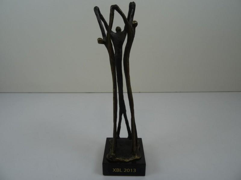 Figuratief bronzen beeldje Artihove